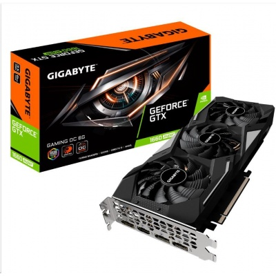GIGABYTE VGA NVIDIA GeForce GTX 1660 SUPER GAMING OC 6G, 6GB GDDR6, 1xHDMI, 3xDP