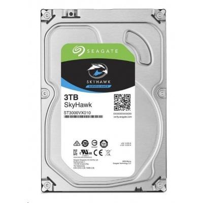 """SEAGATE HDD SKYHAWK 3,5"""" - 3TB, SATAIII, 5400rpm, 256MB cache"""