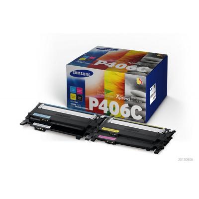 Samsung CLT-P406C 4-pk CYMK Toner Crt