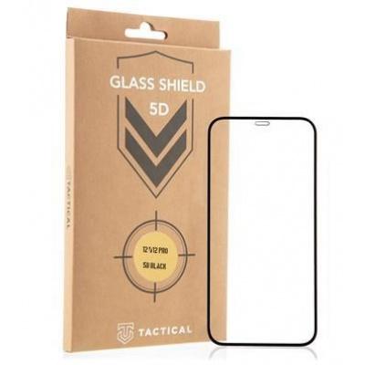 Tactical Glass Shield 5D AntiBlue sklo pro Apple iPhone 12/12 Pro Black