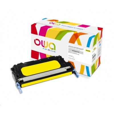 OWA Armor toner pro HP Color Laserjet 2700, 3000, 3500 Stran, Q7562A, žlutá/yellow