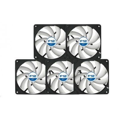 ARCTIC F12 Case Fan ventilátor 120mm low noise - 5ks