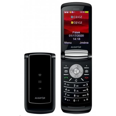Aligator DV800 Dual SIM, černá
