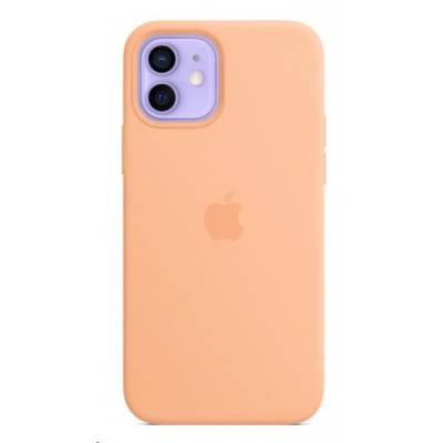Apple iPhone 12 | 12 Pro Silicone Case with MagSafe - Cantaloupe