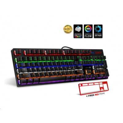 CONNECT IT Herní klávesnice NEO+, LED podsvícení, USB, CZ+SK verze