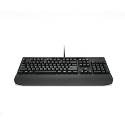 LENOVO klávesnica drôtová Enhanced Performance USB Keyboard Gen II - USB, CZ, čierna