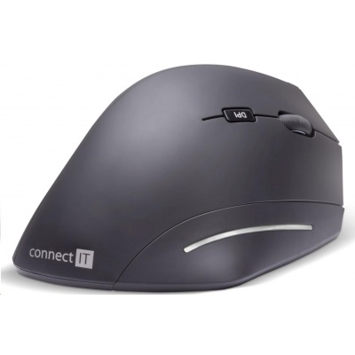 CONNECT IT FOR HEALTH ergonomická vertikální myš, bezdrátová