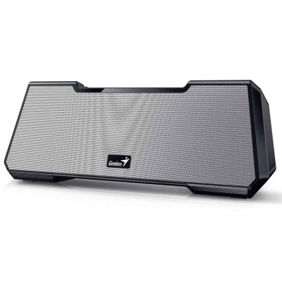 GENIUS repro MT-20/ 2.1/ Bluetooth/ dobíjecí/ stříbrný