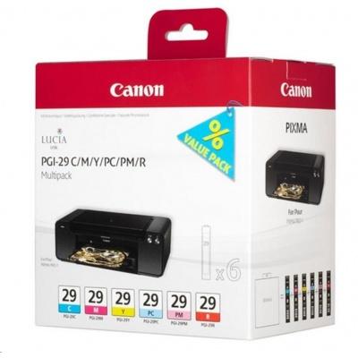 Canon BJ CARTRIDGE PGI-29 CMY/PC/PM/R Multi pro PIXMA PRO 1
