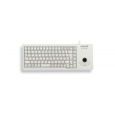 CHERRY klávesnice XS Trackball, USB, EU, šedá