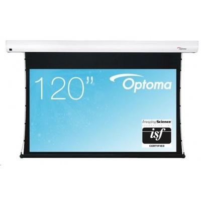 """Optoma elektrické plátno s vypínacím mechanizmem  DE-9120ETT, 120"""", 16:9"""