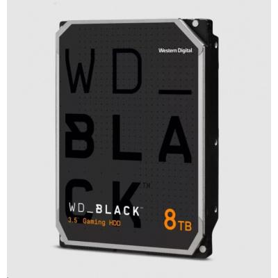 WD BLACK WD8001FZBX 8TB SATAIII/600 256MB cache 7200 ot., CMR