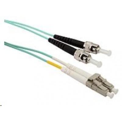 Solarix Patch kabel 50/125 LCupc/STupc MM OM3 2m duplex SXPC-LC/ST-UPC-OM3-2M-D