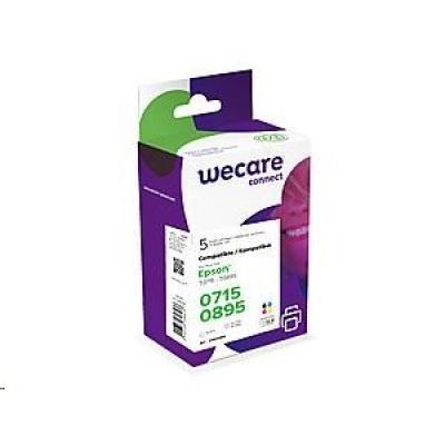 WECARE ARMOR cartridge pro EPSON Stylus D78,D92,D120,DX4000,DX4050,DX4400,DX4450,DX5000(K10099W4), 2BK+1C+1M+1Y, 5x9.5ml