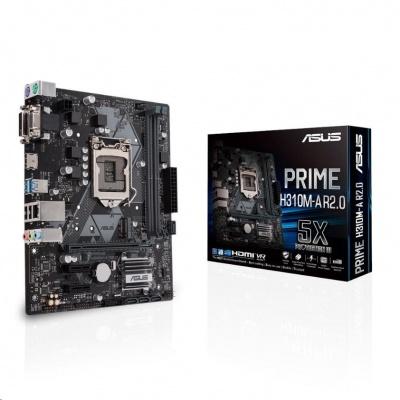 ASUS MB Sc LGA1151 PRIME H310M-A R2.0, Intel H310, 2xDDR4, VGA, mATX