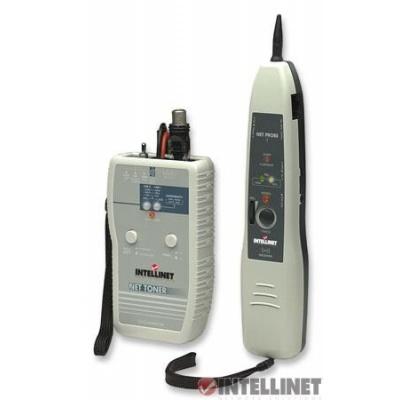 Intellinet Cable Tester, Net Toner and Probe Kit, Tone Generator, RJ45, RJ12