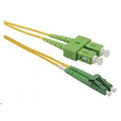 Solarix Patch kabel 9/125 LCapc/SCapc SM OS 2m duplex SXPC-LC/SC-APC-OS-2M-D