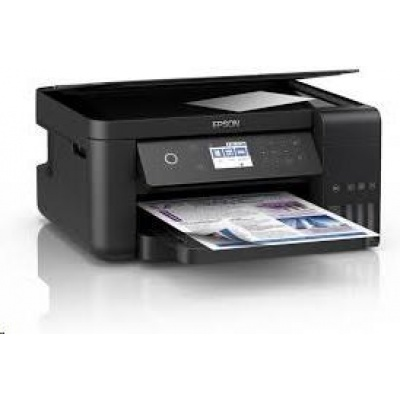 EPSON tiskárna ink EcoTank L6160, 3v1, A4, 33ppm, USB, Ethernet, Wi-Fi (Direct), Duplex,  LCD, 3 roky záruka po reg.
