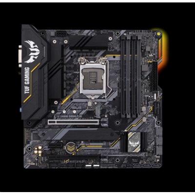 ASUS MB Sc LGA1200 TUF GAMING B460M-PLUS, Intel B460, 4xDDR4, VGA, mATX