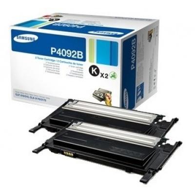 Samsung CLT-P4092B 2-pk Black Toner C
