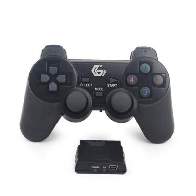 BAZAR GEMBIRD gamepad JPD-WDV-01, vibrační, bezdrátový, PC/PS2/PS3, USB - POUŽITO