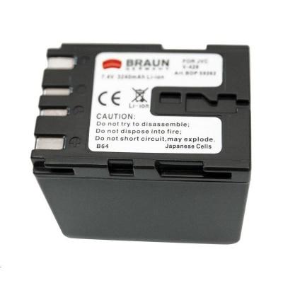 Braun akumulátor JVC BN-V428, 3240mAh