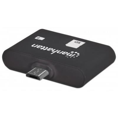 MANHATTAN čtečka karet imPORT SD, USB OTG, 24 v 1