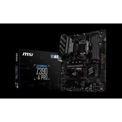 MSI MB Sc LGA1151 Z390-A PRO, Intel Z390, VGA, 4xDDR4