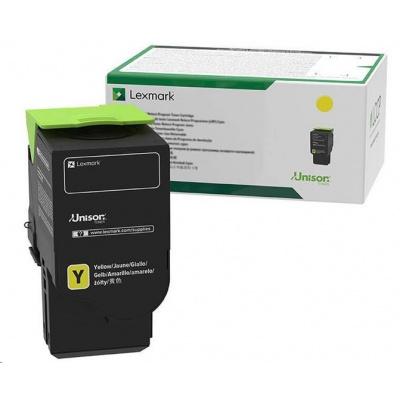 Lexmark žlutý Extra High cap. toner C242XY0 Return program pro pro C2425x,C2535x,MC2425x,MC2535x,MC2640x - 3 500 str