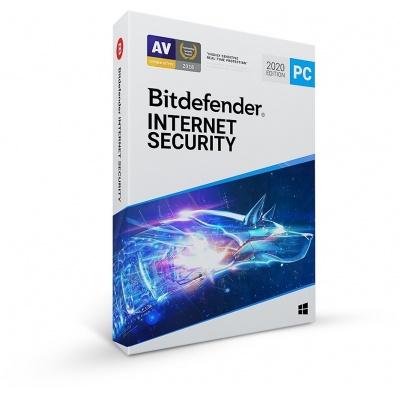 Bitdefender Internet Security - 3PC na 1 rok- elektronická licence do emailu