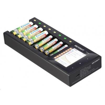 VOLTCRAFT Nabíječka akumulátorů IPC-8 NiMH, NiCd, NiZn, Li-Ion, LiHV , LiFePO , AA, AAA, 14500, 10440