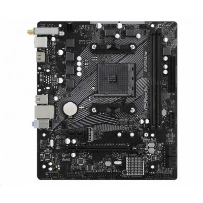 ASRock MB Sc AM4 A520M/AC, AMD A520, 2xDDR4, HDMI