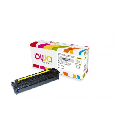 OWA Armor toner pro HP Color Laserjet CP1210, 1215, 1510, 1400 Stran, CB542A, žlutá/yellow
