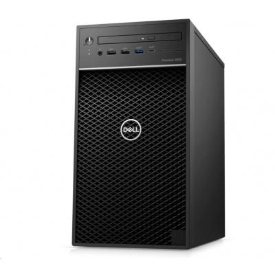 DELL PC Precision 3650/Xeon W-1270/16GB/512GB SSD + 1TB/Quadro P2200/TPM/DVD RW/No Wifi/Kb/Mouse/460W/vPro/3Y ProSpt