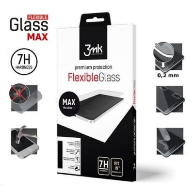 3mk hybridní sklo FlexibleGlass Max pro Xiaomi Mi A3, CC9e, černá