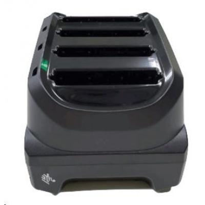 Zebra battery charging station, 4 slots