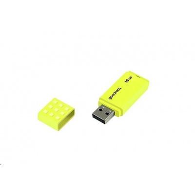 GOODRAM Flash Disk 16GB UME2, USB 2.0, žlutá