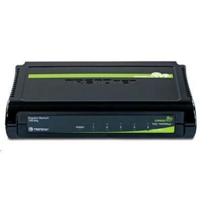 TRENDnet 5port Gigabit GREENnet Switch 10/100/1000