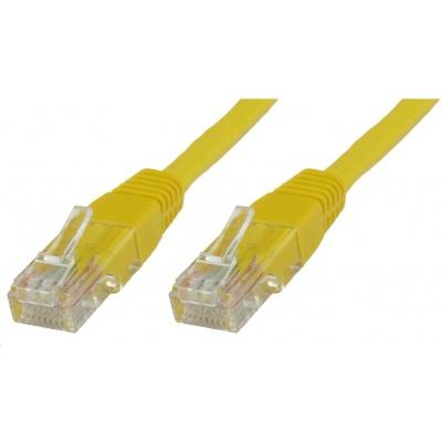 MicroConnect UTP CAT5e 5m, žlutý (CCA)