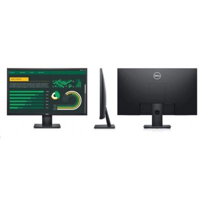 "DELL LCD E2720H 27"" Full HD/8ms/1000:1/VGA/DP/IPS panel/Black"