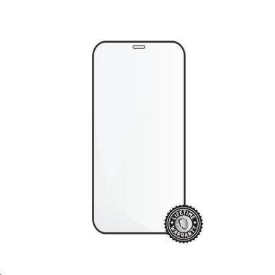 "Screenshield ochrana displeje Tempered Glass pro APPLE iPhone 12 mini 5.4"", (full cover), černá"