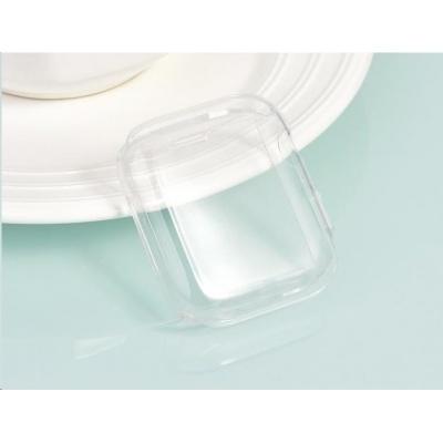 COTEetCI celoplošné ochranné termoplastové pouzdro pro Apple Watch 44 mm transparentní