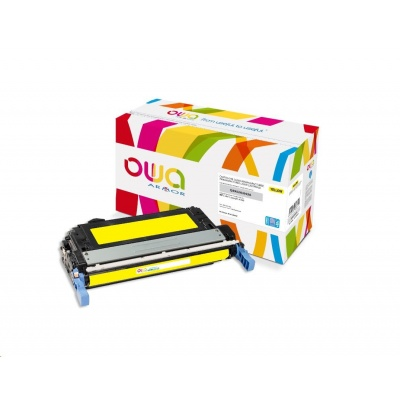 OWA Armor toner pro HP Color Laserjet 4700, 15000 Stran, Q5952A JUMBO, žlutá/yellow