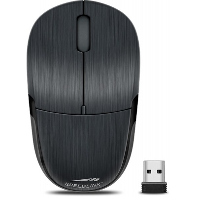 SPEED LINK myš SL-630010-BK JIXSTER Mouse - Wireless, black