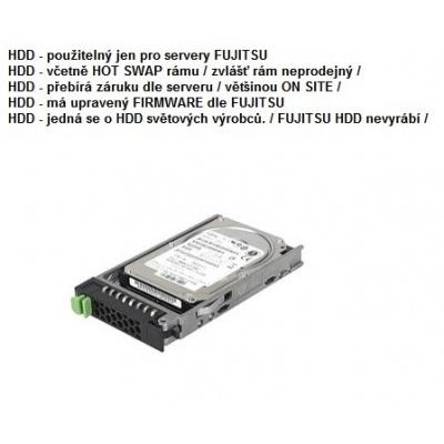 FUJITSU HDD SRV HD SATA 6G 1TB 7.2K 512e HOT PL 2.5' BC pro RX2520M4, TX1320M3