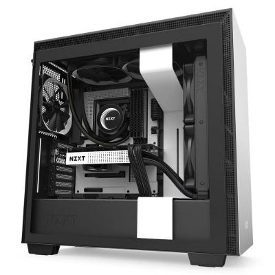 NZXT skříň H710 / ATX / průhledná bočnice / USB 3.0 / USB-C 3.1 / bílá