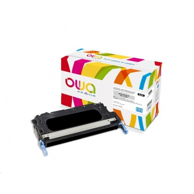 OWA Armor toner pro HP Color Laserjet 3600, 3800, CP3505, 11000 Stran, Q6470A JUMBO, černá/black