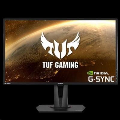 """ASUS LCD 27"""" VG27AQ TUF Gaming HDR WQHD (2560x1440), 1ms, IPS, 165Hz, ELMB Sync™, G-SYNC, 350cd, repro, HDMI, DP"""
