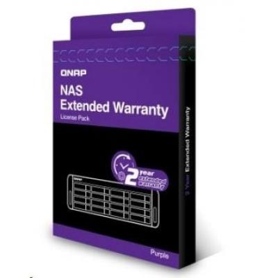 QNAP LIC-NAS-EXTW-PURPLE-2Y-EI elektronická prodlužujicí záruka 2 roky