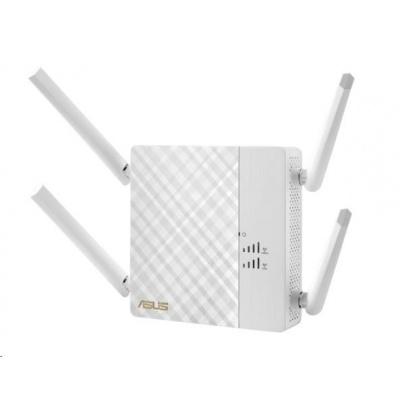 ASUS RP-AC87 Wireless AC2600 Dualband Range Extender, AP/repeater přímo do zásuvky, 1x gigabit RJ45